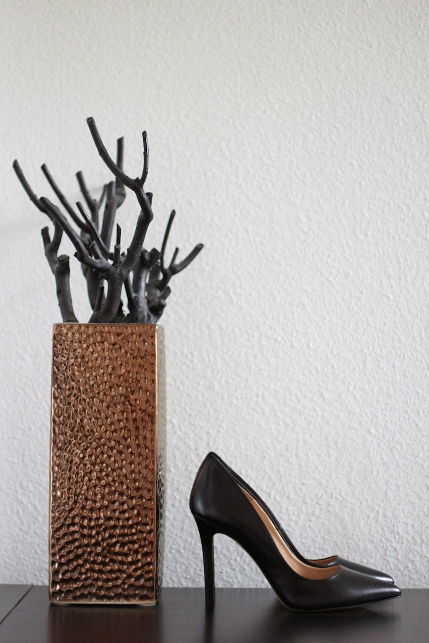 zara heels-perfect black heels