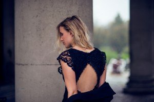 nly icons collection, nelly dress, open back dress