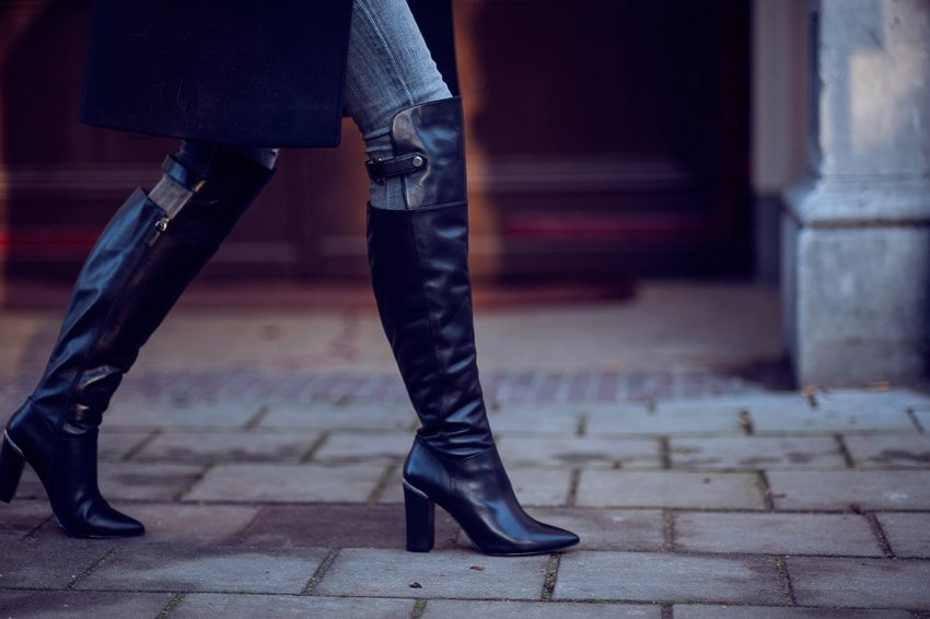 reiss overknee boots