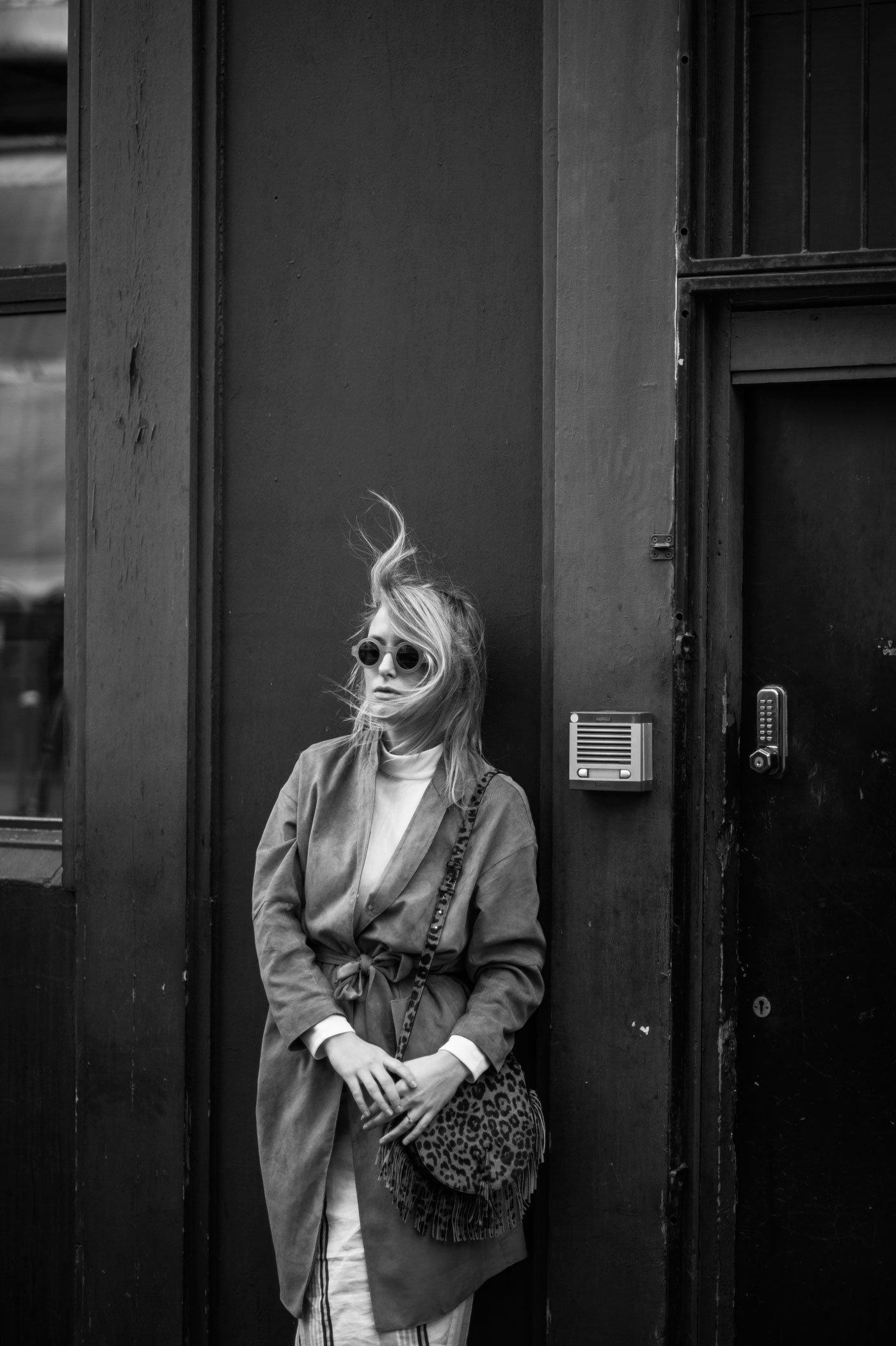filippa k suede coat 70s