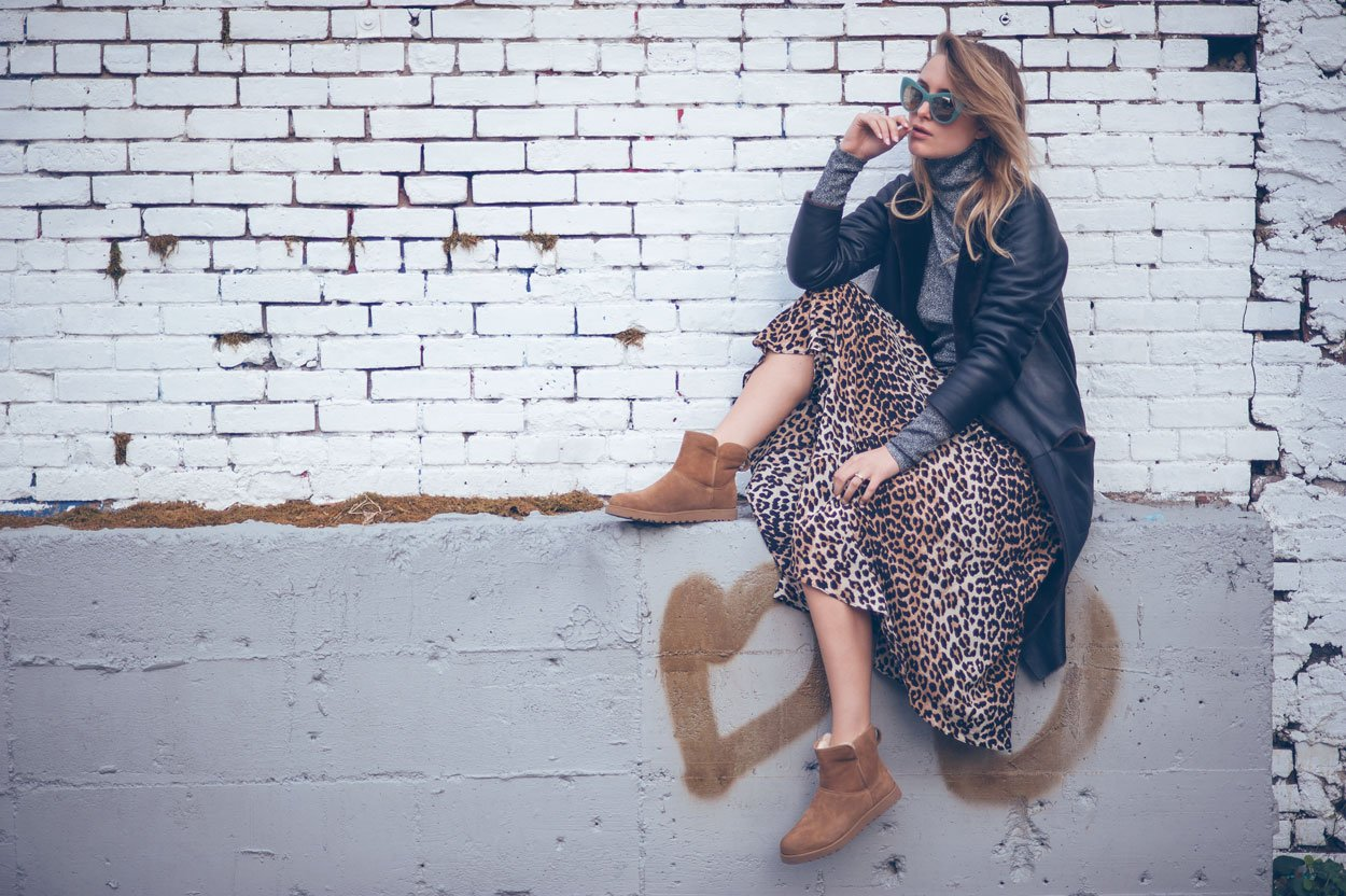 ugg boots fashion blogger